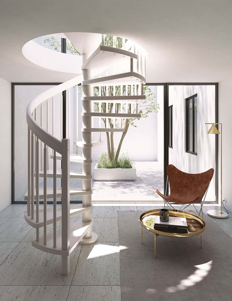 NEWLIVING SCALE - SPIRAL STAIRCASE